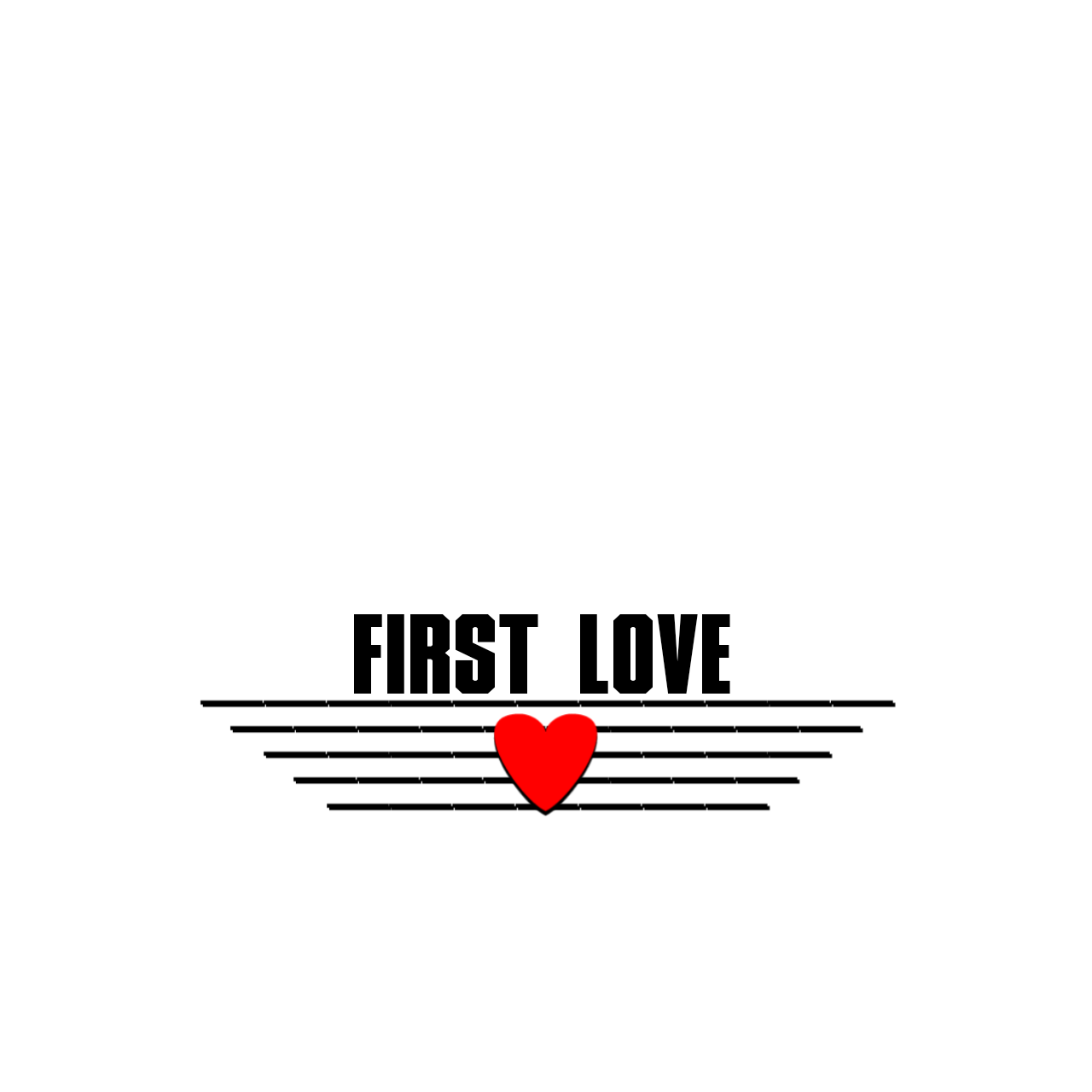 Png images for editing. Black love text material