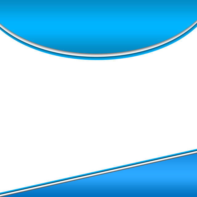 Banner line png. Vector blue website background