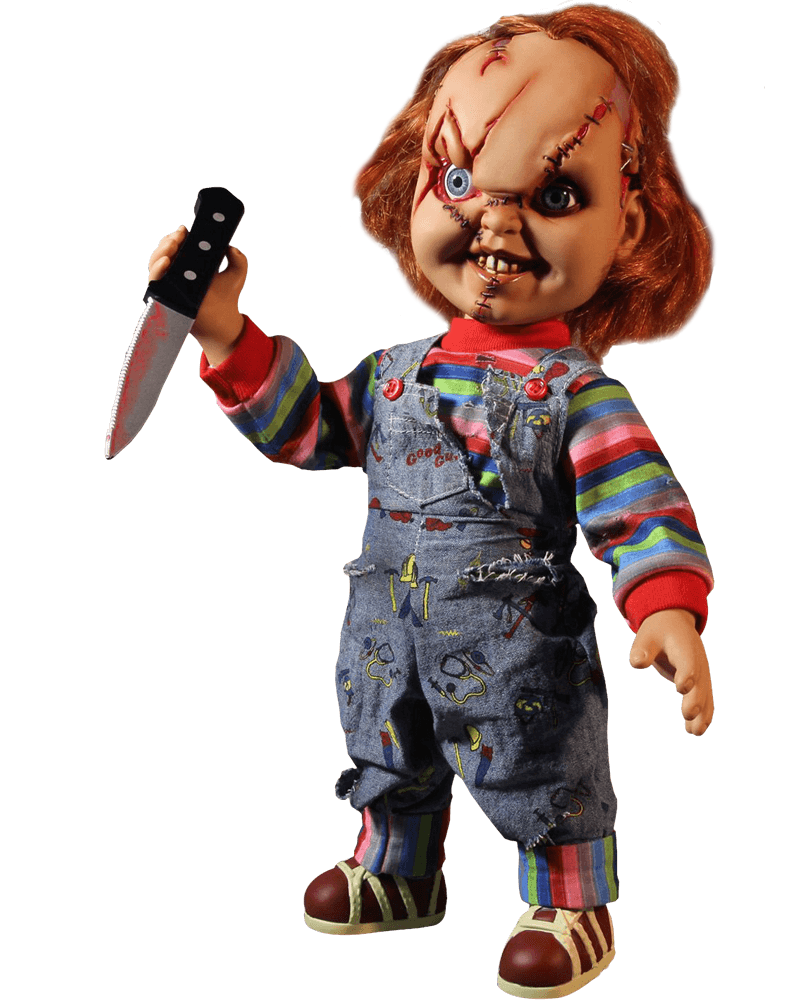 Png images of chucky. Talking scarred mezco lima