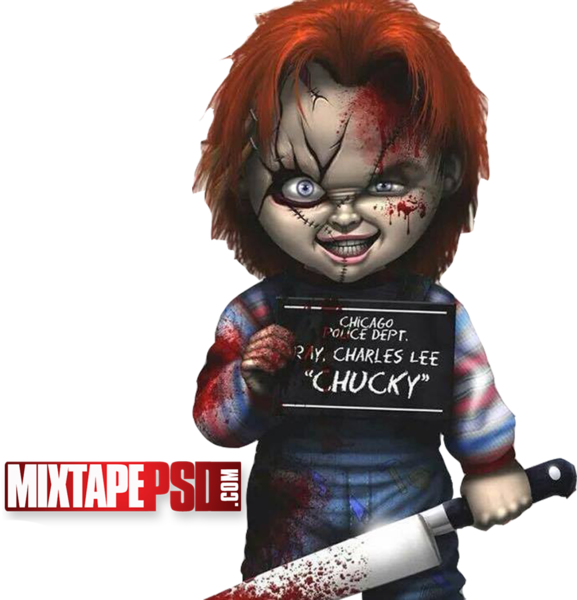 Png images of chucky. Cut out psd official