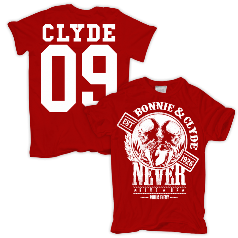 Png images of clyde gangster. T shirt bonnie staatsfeind