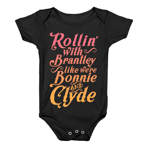 Png images of clyde gangster. Bonnie and baby onesies