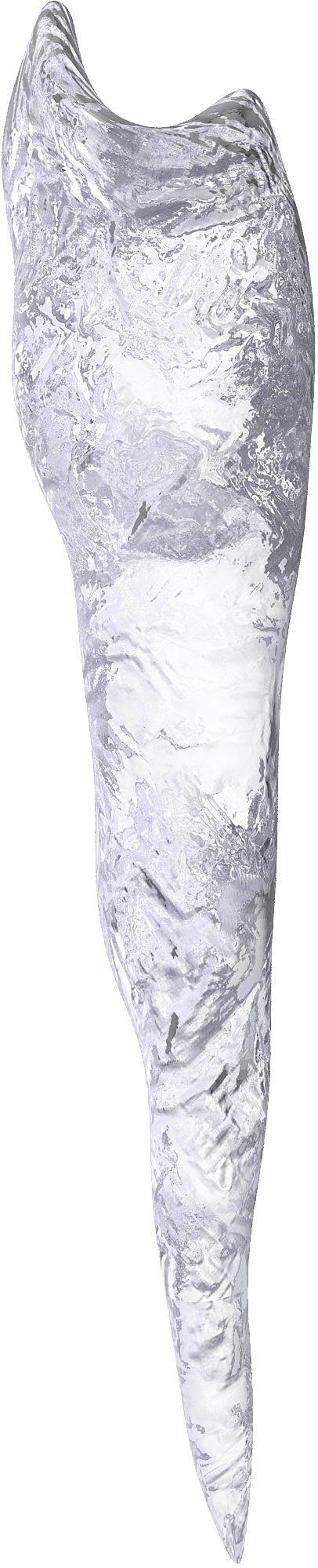 Icicles transparent one. Png image