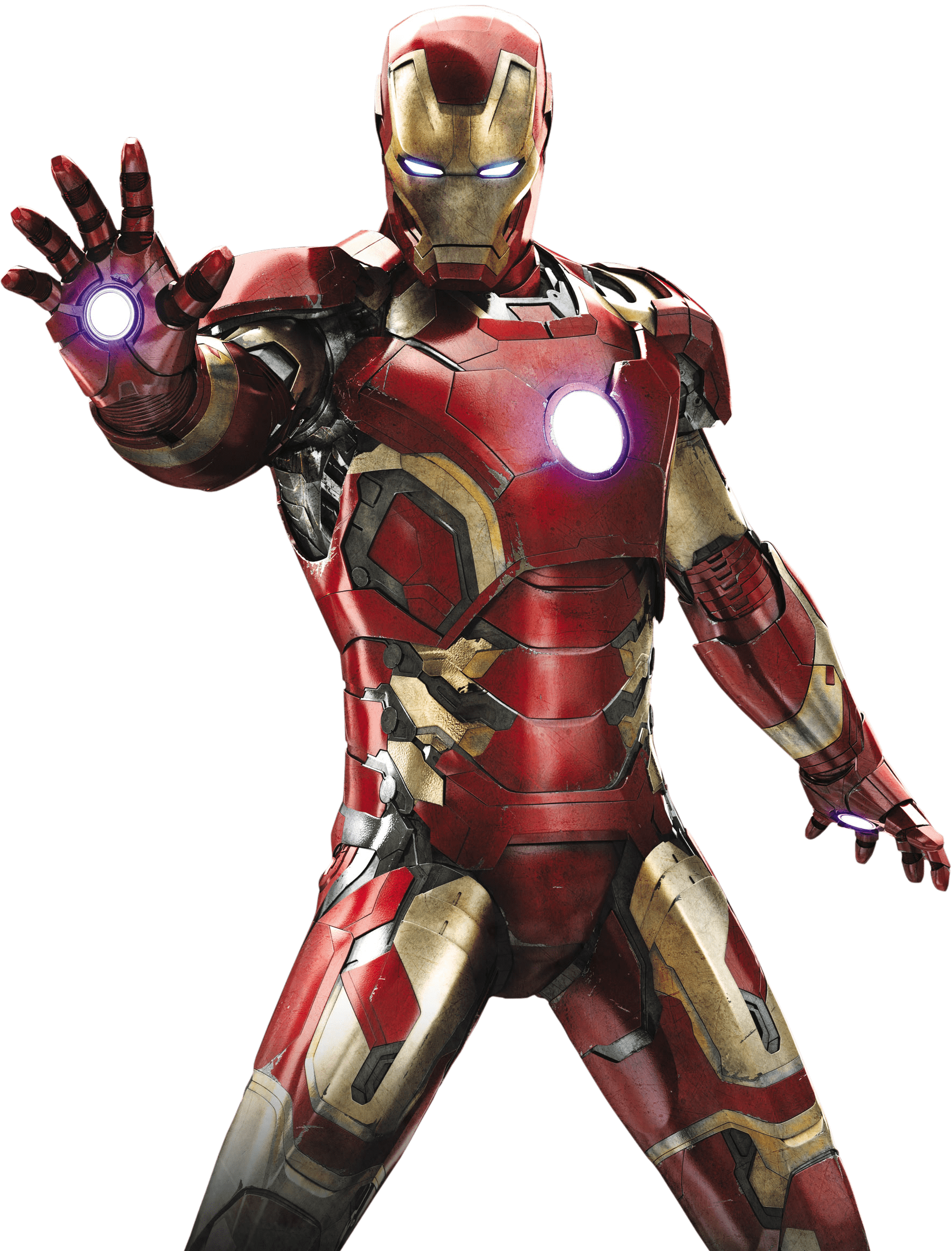 Ironman png. Iron man standing transparent