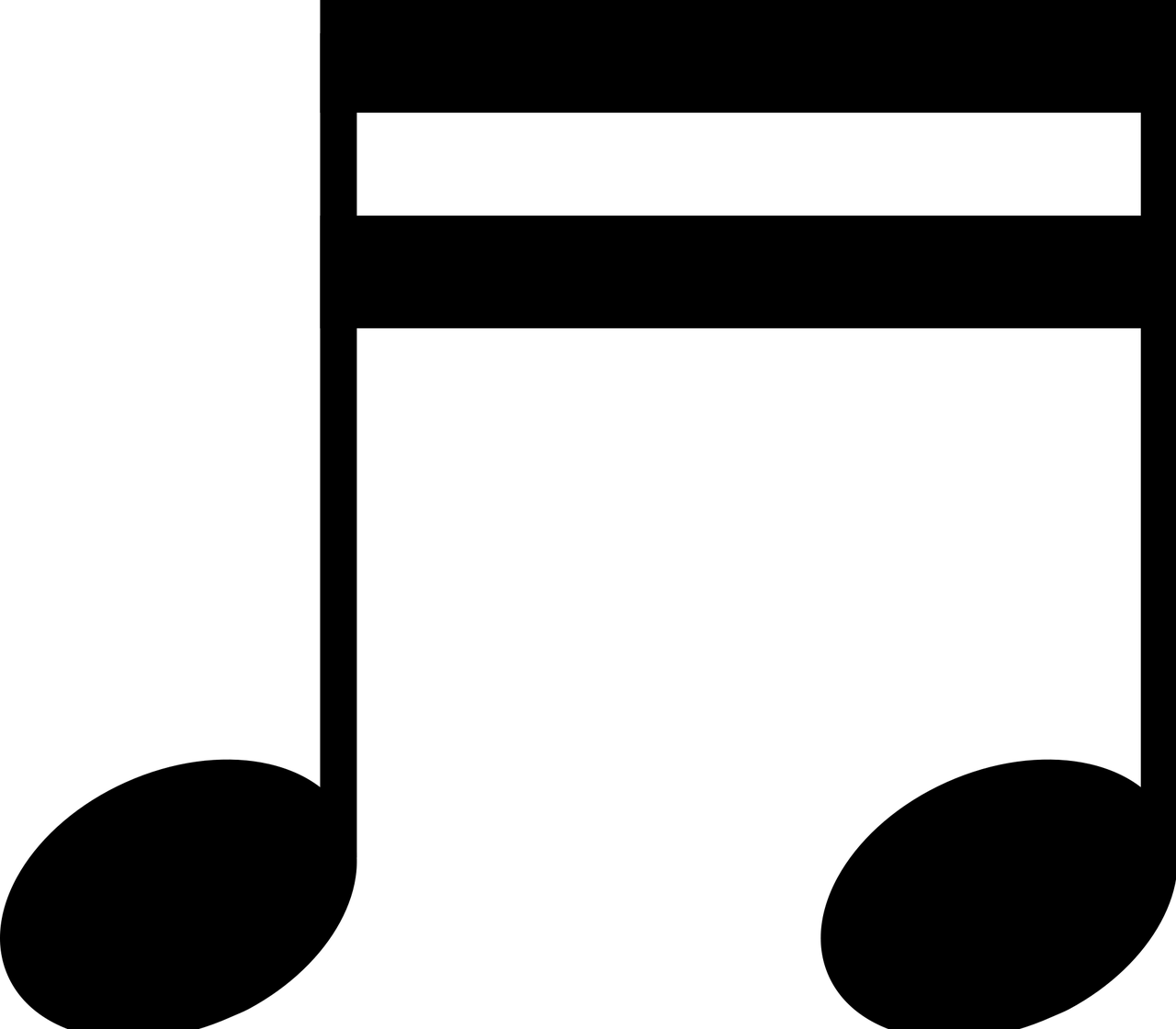 Png images of music notes. Musical collection transparent stickpng