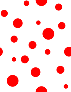 Png images of red polka dots. Clip art at clker