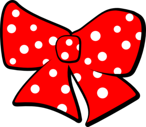 Png images of red polka dots. Bow with clip art