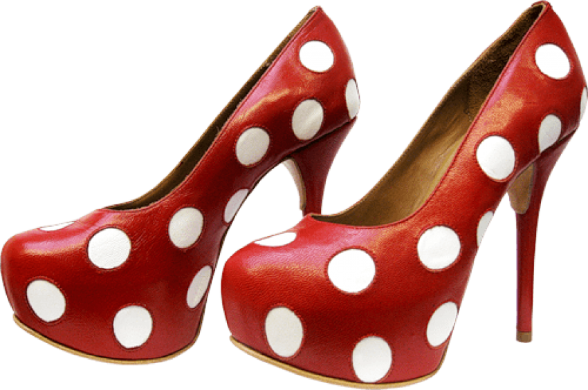 Png images of red polka dots. Dot heels free toppng