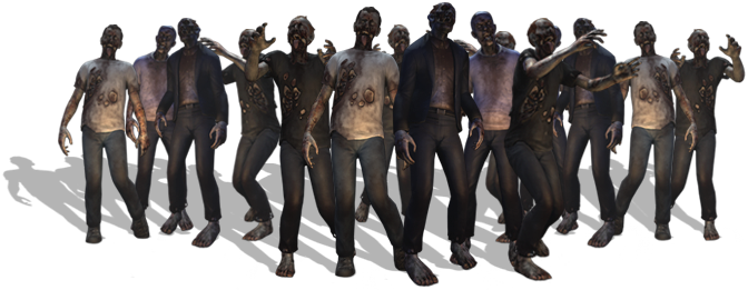 Walking dead zombies png. Zombie images free download