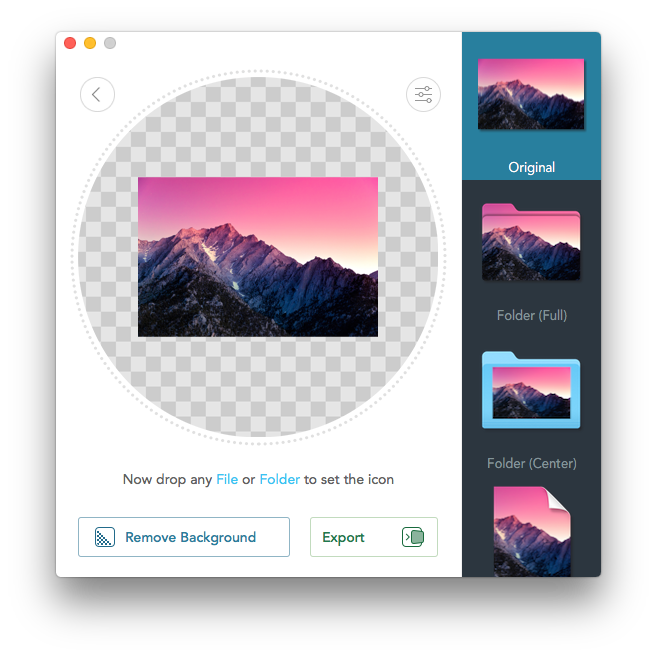 Convertir imagenes png a ico. Image icon your mac