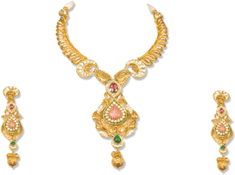 Download gold jewellery necklace. Jewellers png banner transparent stock