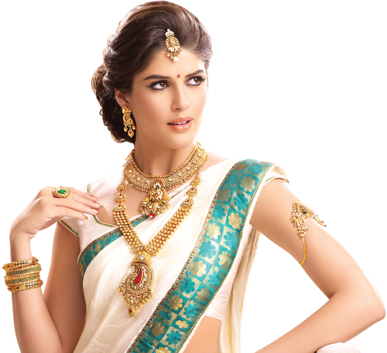 Png jewellers ad. Model image
