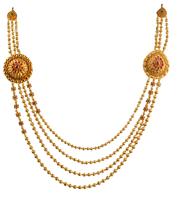 gold necklace designs png