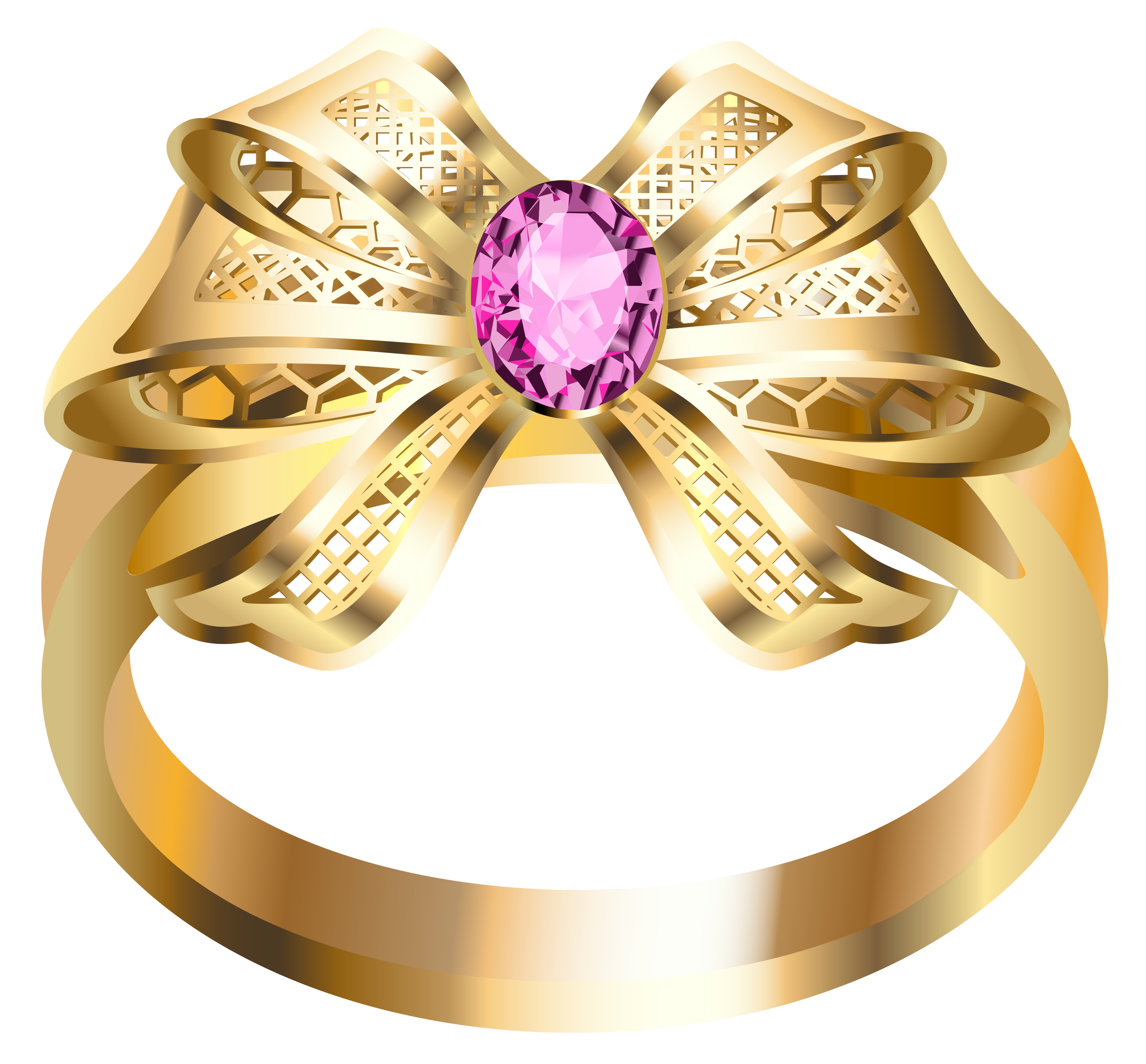 Gold diamond png. Ring with diamonds image