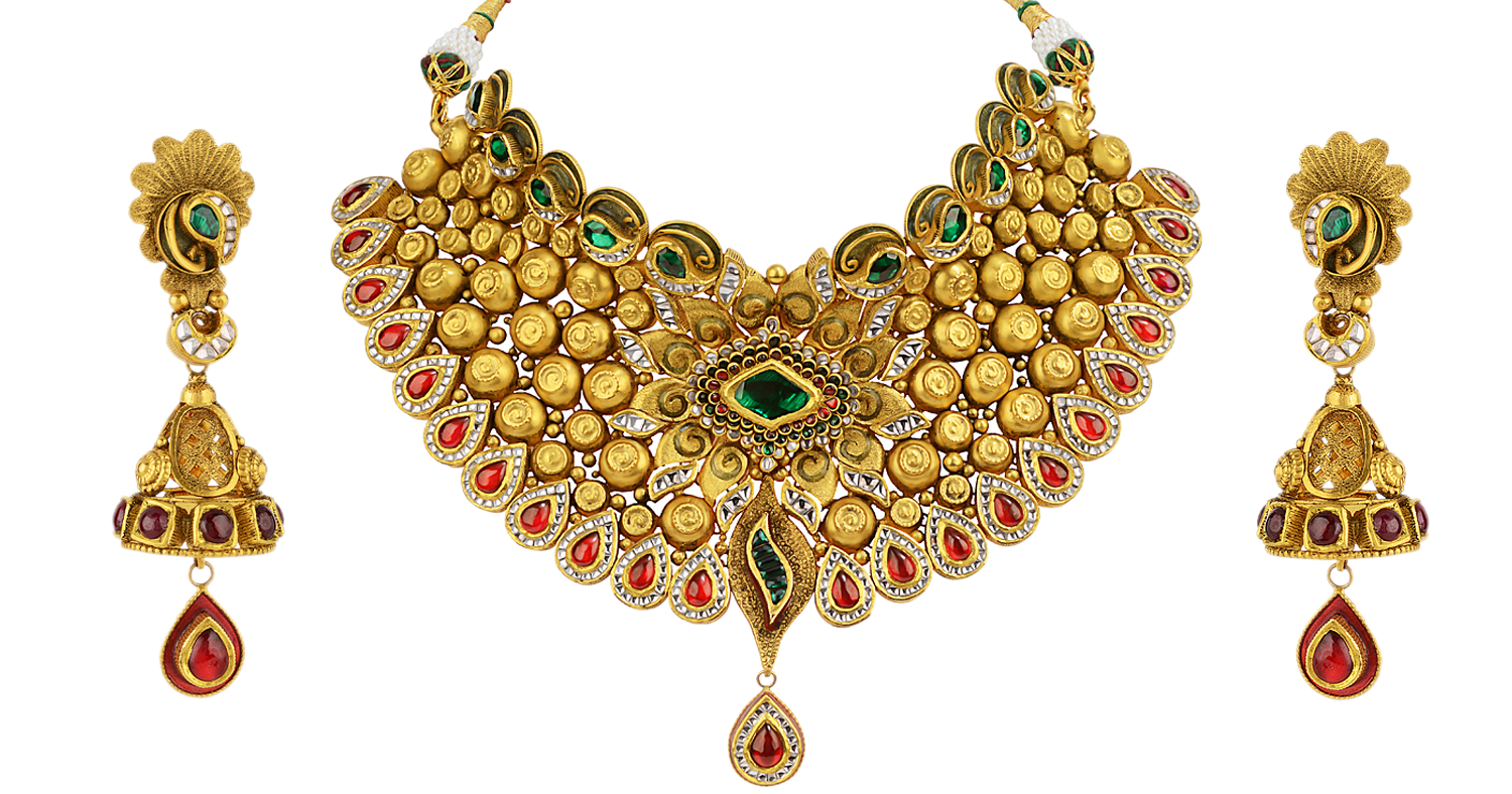 Png jewellers india. Cloth napkins gold jewellery