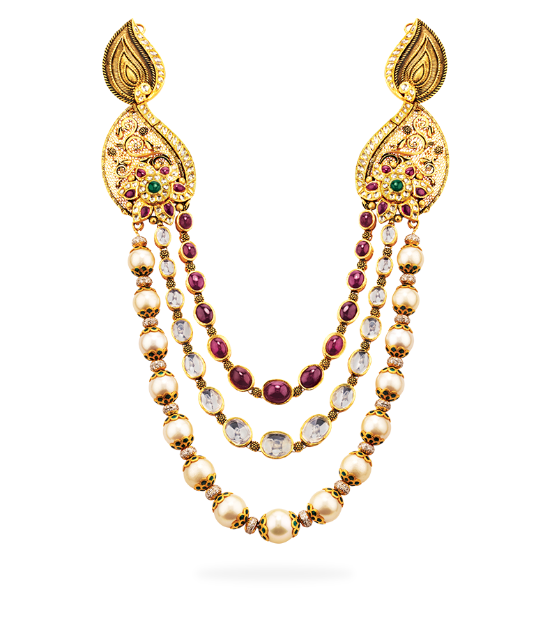 Png jewellers pune branches. Notandas bridal necklace
