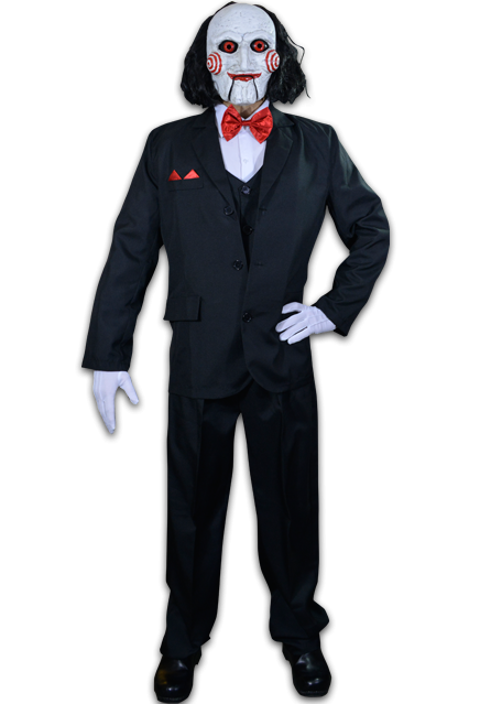 Png jigsaw saw. Billy puppet adult costume