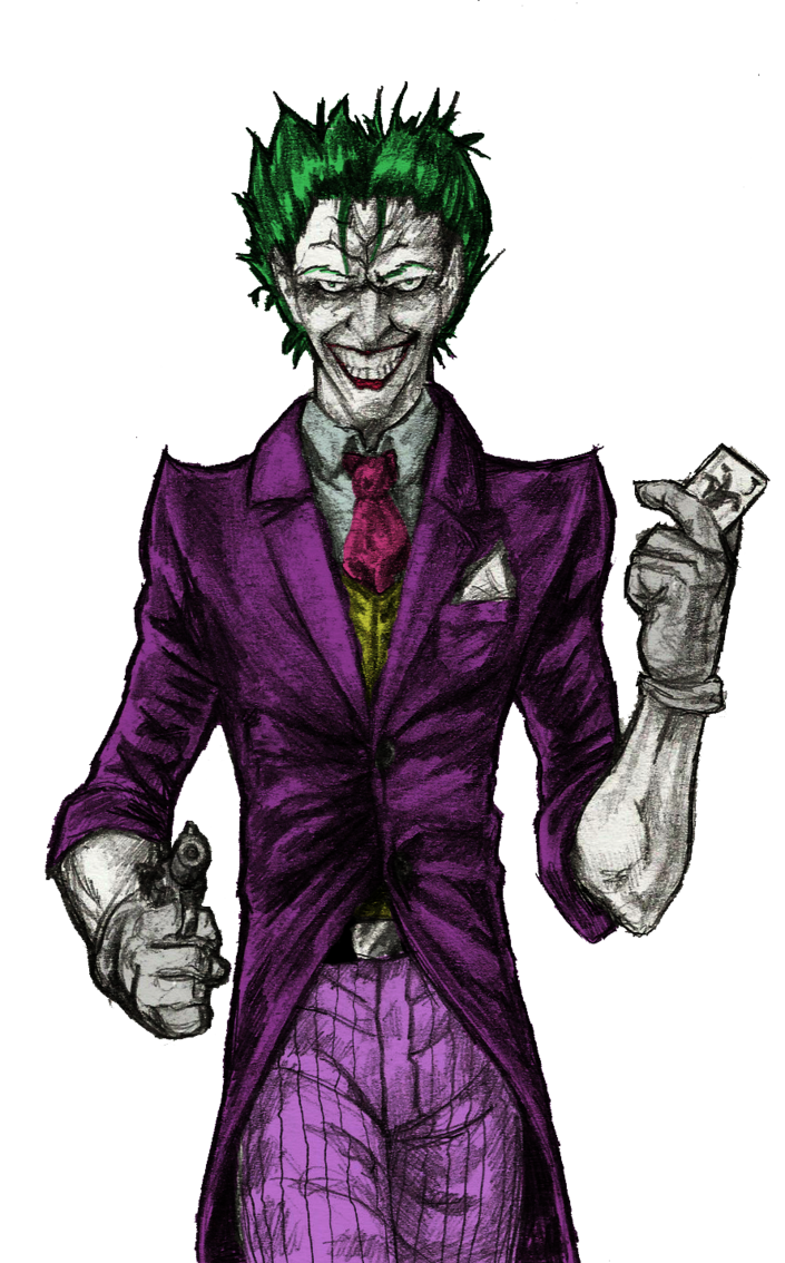 acting drawing joker