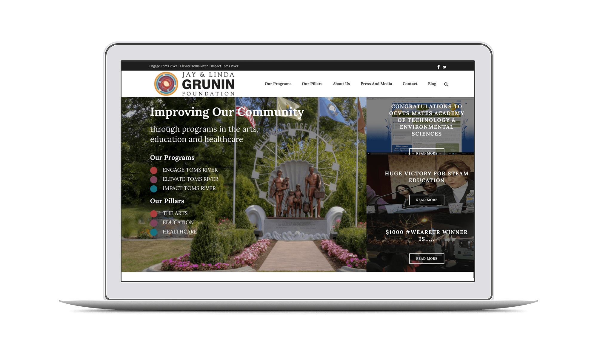 Png landscaping toms river nj. Grunin foundation creative click