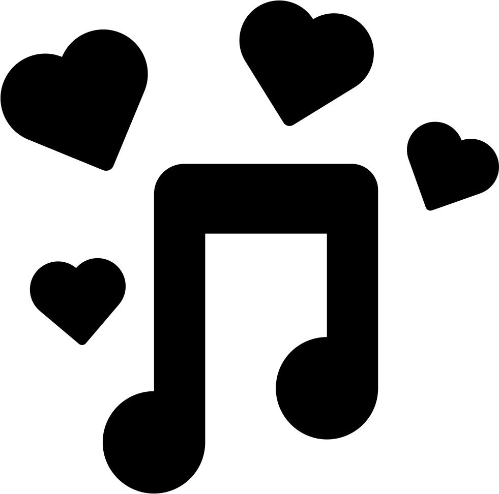 Png latest music 2015 download. Romantic svg icon free