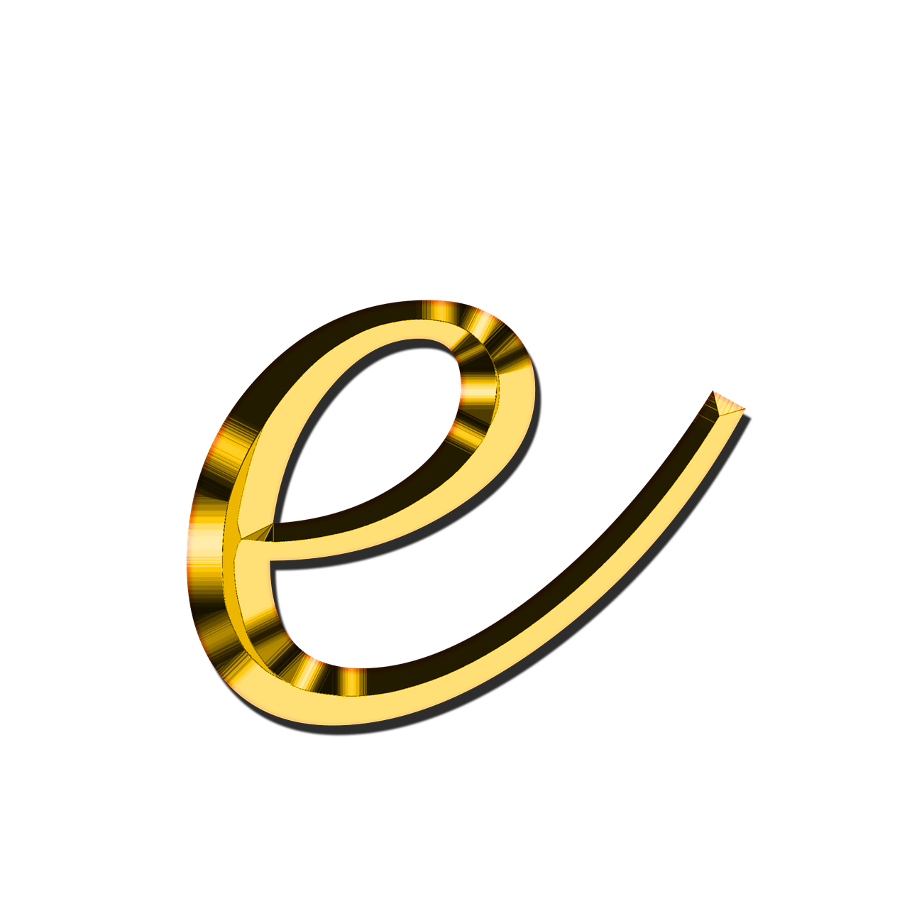 E transparent small. Letter png stickpng download