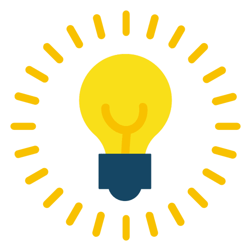 Png lightbulb. On transparent svg vector