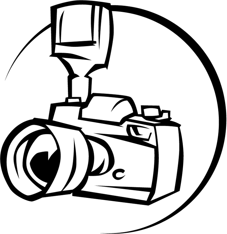 Free camera download clip. Lens drawing logo hd png clipart black and white stock