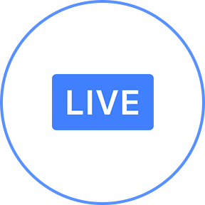 Video streaming about. Facebook live png svg free download