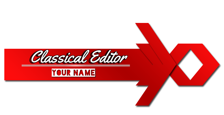 Png logo editor. Classical effective for editors