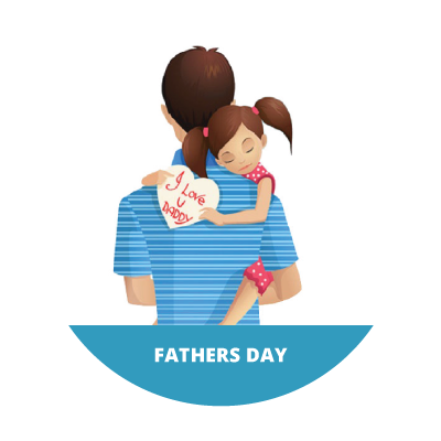 Fathers day i daddy. Png love you dad vector stock