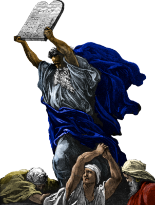 Png moses statue clear background. Image dore exodus clip