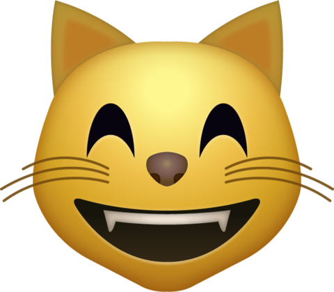 Png muscle free emoji apple. Happy cat icon download