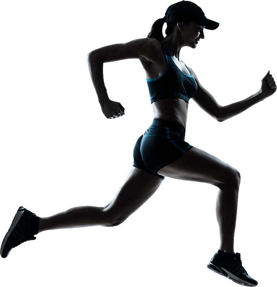 Png muscle lady transparent background. Running women image purepng