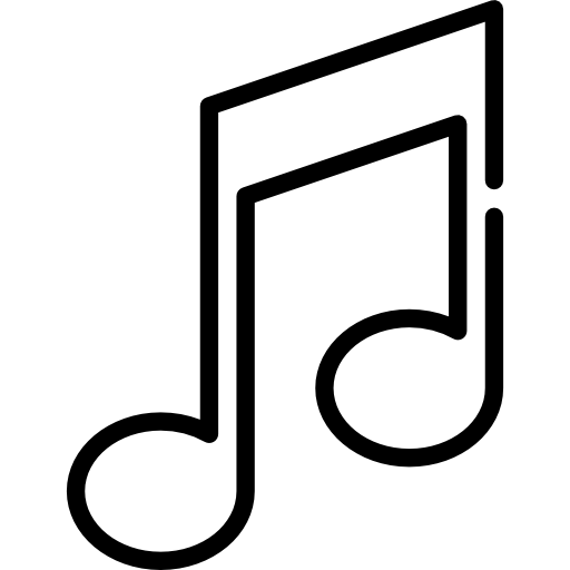 icons transparent music
