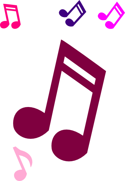 Notes clip art at. Png music 2016 download svg freeuse download