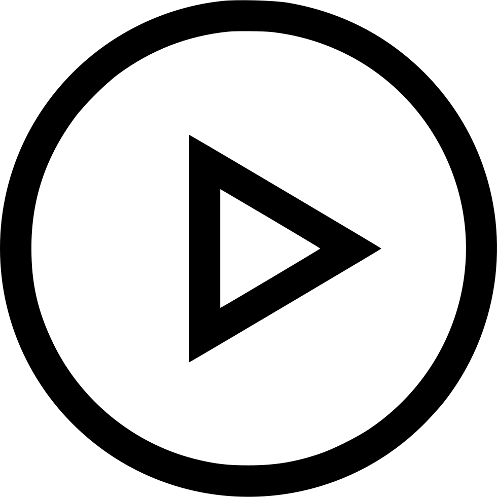 Clip icon music video. Play online web internet