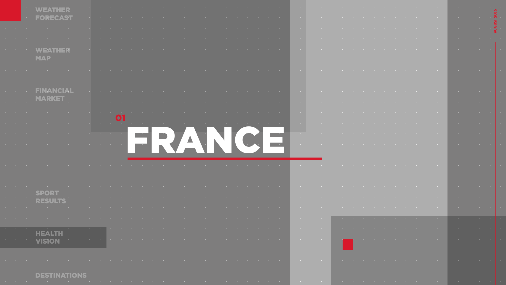 Unlimited infotainment content france. Png national news today banner