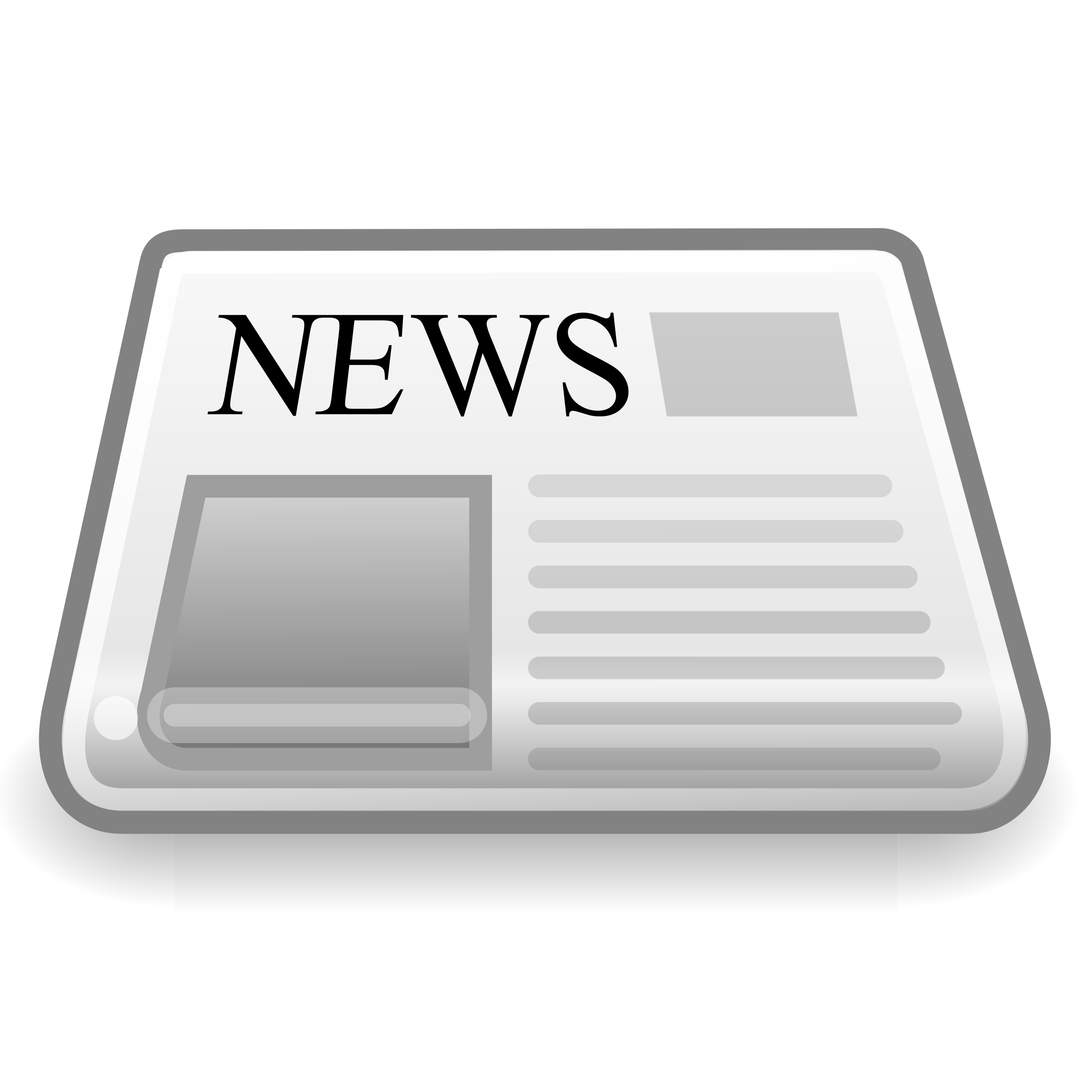 Newspaper clip news. Paper icon icons png