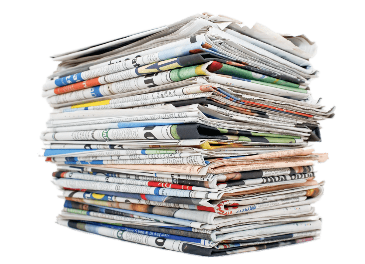Png news papers. Newspaper circulation local pile