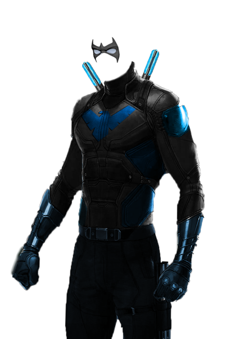 Png nightwing. Dceu suit concpet by