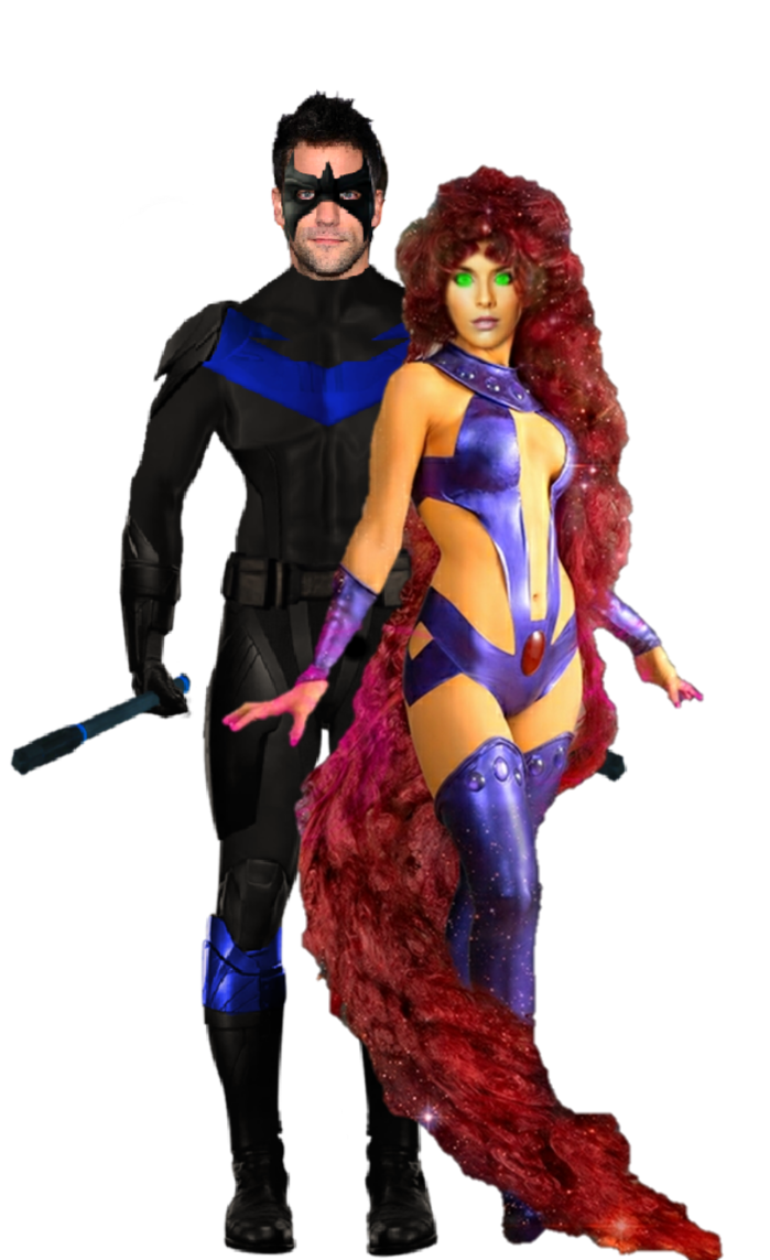 Png nightwing. Brant and caitlin as