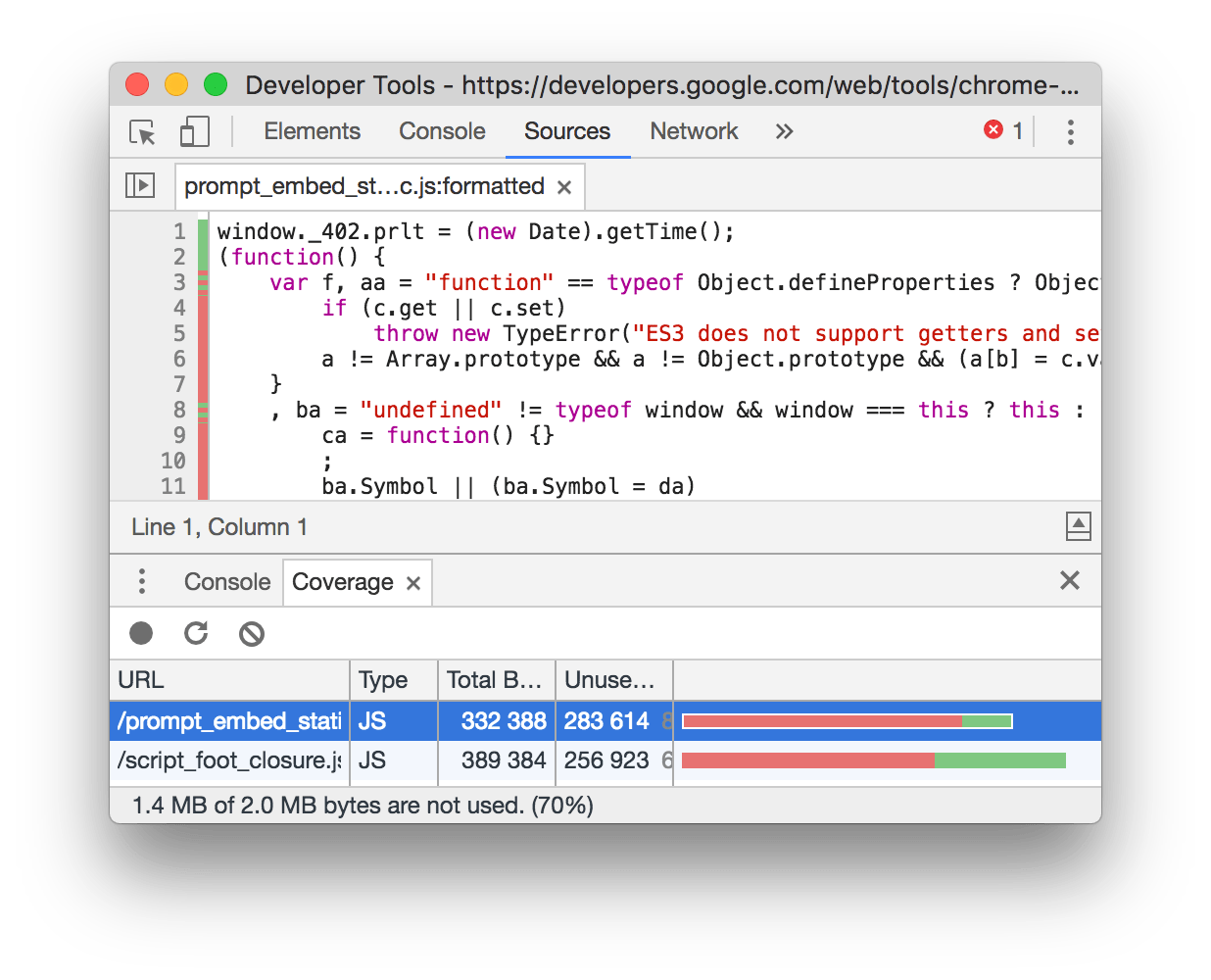 Png not showing in chrome. What s new devtools