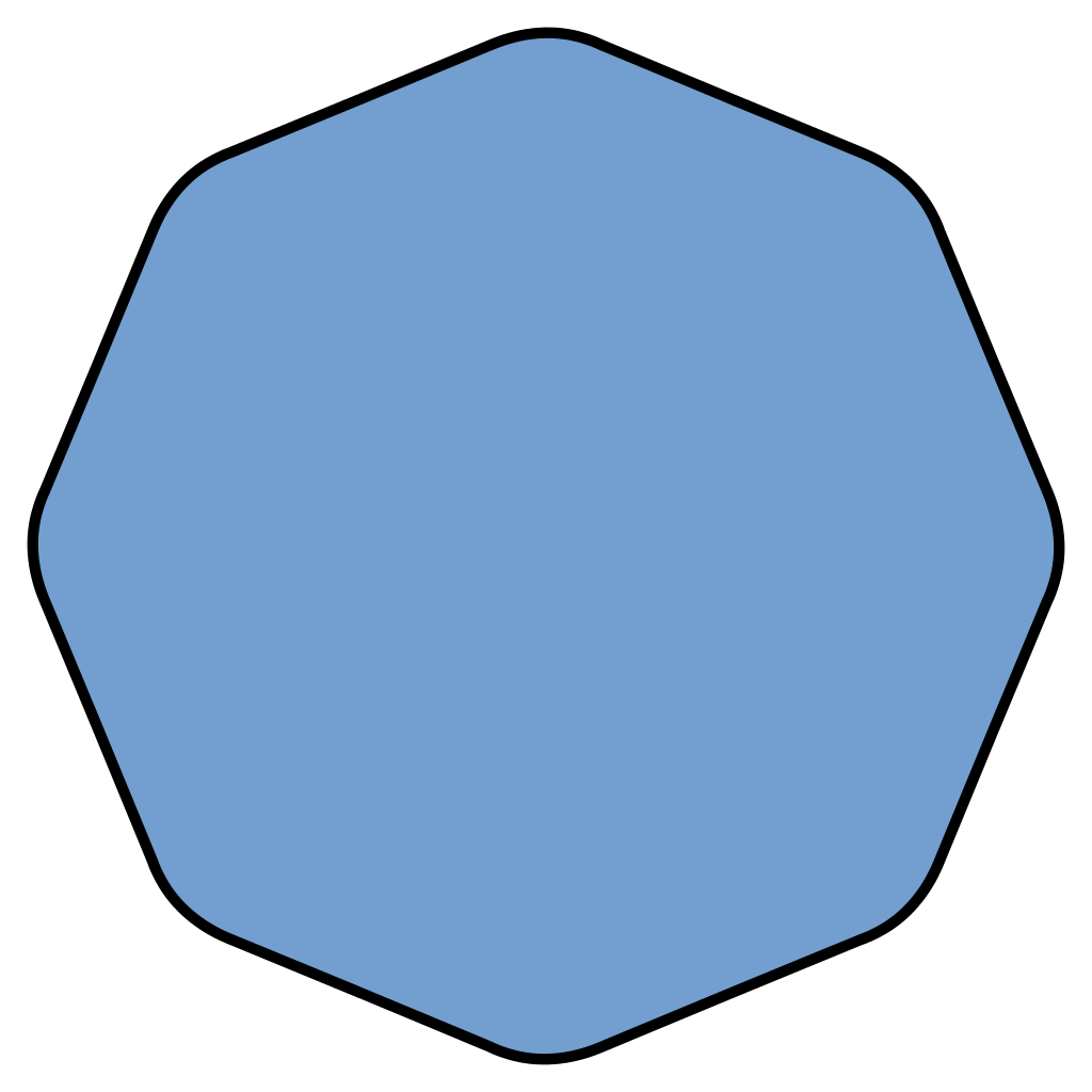 Png octagon shapes. File smoothed simple svg