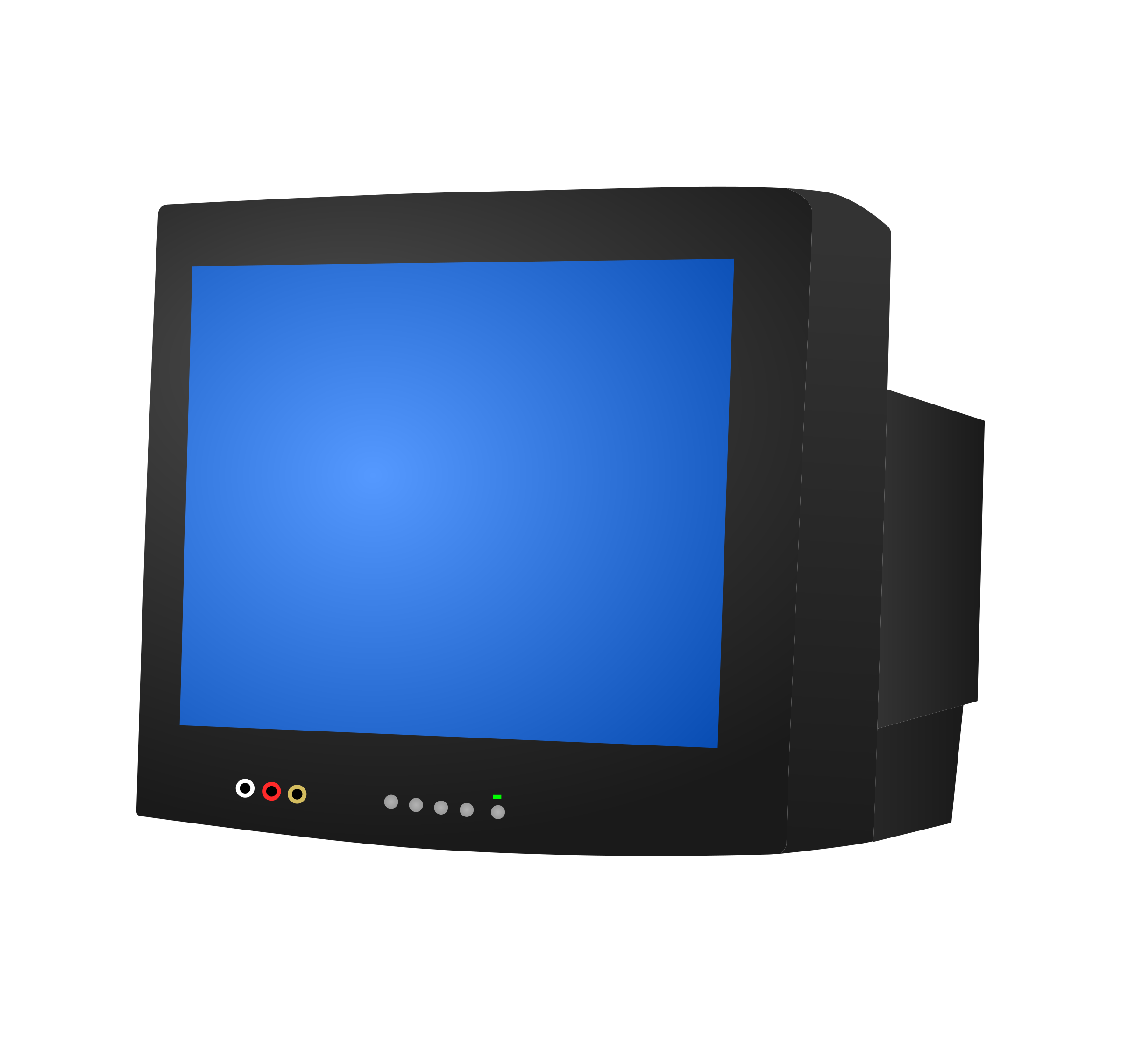 Crt icons free and. Tv png free stock