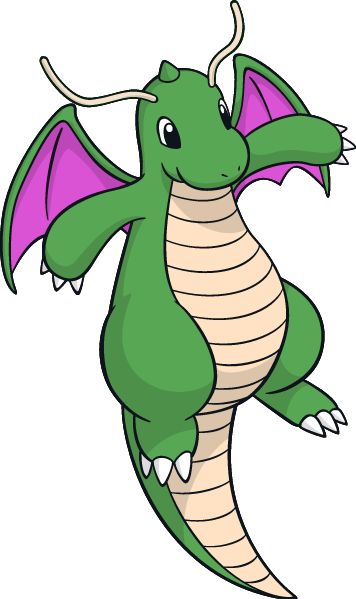 Png of dragonite. Image shiny artwork by
