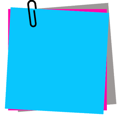 Png of sticky notes stack colorful. Marcos gratis para fotos
