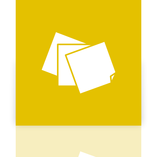 Png of sticky notes stack colorful. Icon more