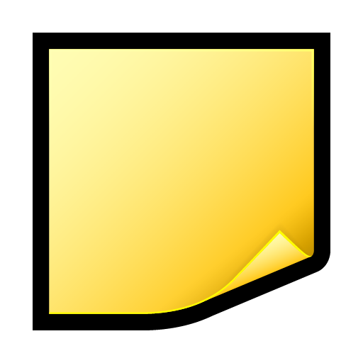 Png of sticky notes stack colorful. Postit icon ico more