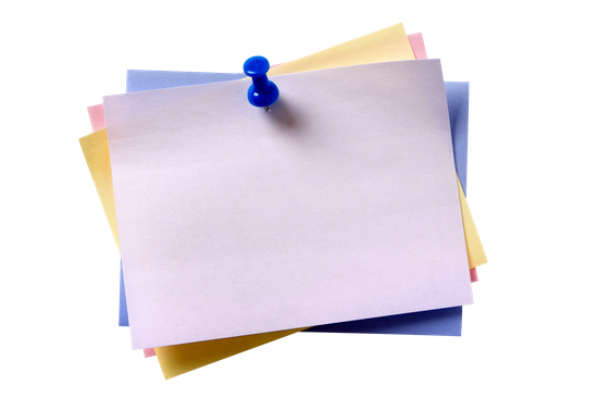 Png of sticky notes stack colorful. Free premium stock photos