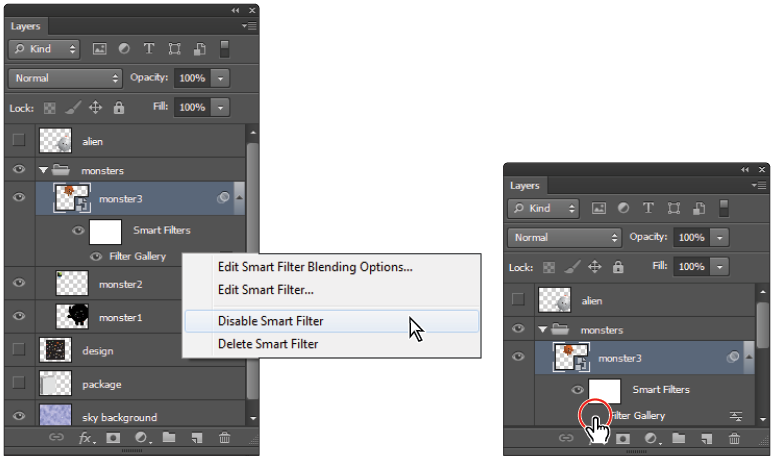 Png options photoshop. Tutorial taking advantage of
